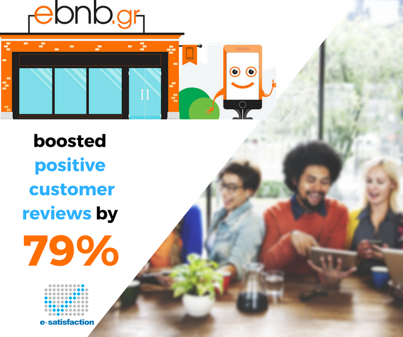 How ebnb.gr increased their positive reviews by 79%!
